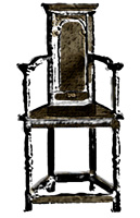 caquetoire-gossip chair