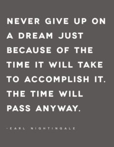 carl nightingale quote time will pass anyway pinterest