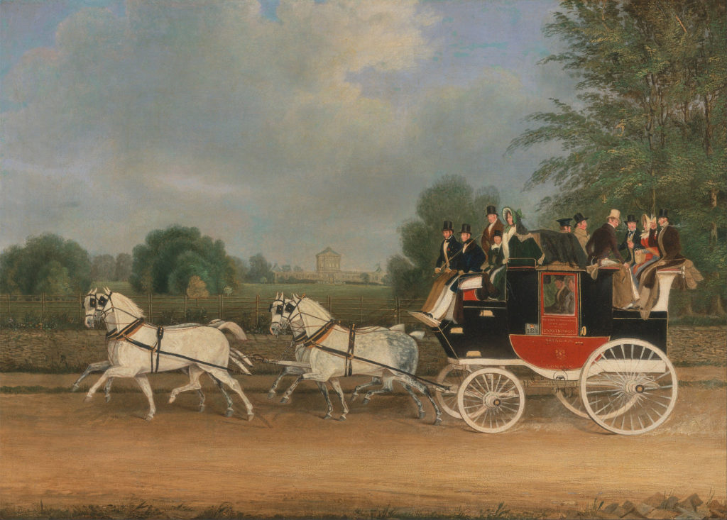 carriage mail coach 1835